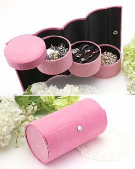 Pink Pink Accessory Storage Box (ot326)