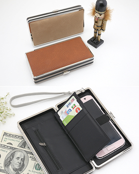 Plain cellphone wallet box (ot325)