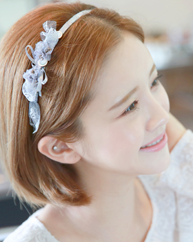 Lace girl hairband (hb639)