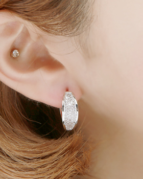 One-Touch Crimping Earring (er1811)
