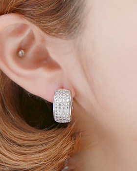 Country one-touch earring (er1814)