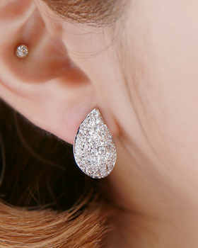 History one-touch earring (er1823)