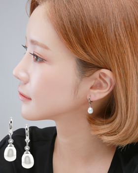 Pearl Arc one-touch earring (er1830)
