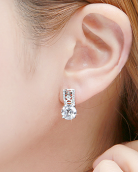 One touch earring (er1844)