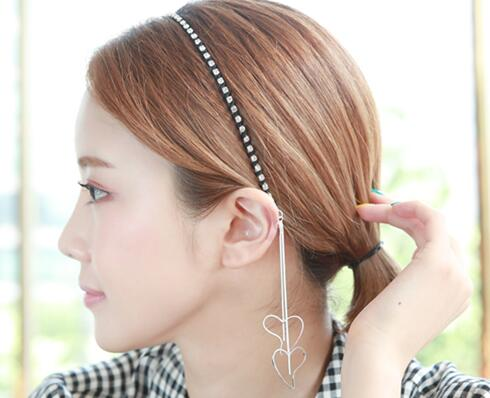 Hearted Hair Band (hb590)