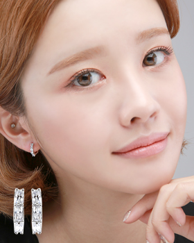 Funny one-touch earring (er1850)