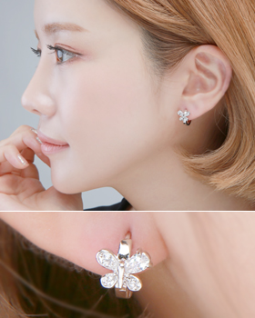 One touch earring (er1849)