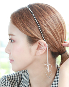 Hearted hairband (hb590)