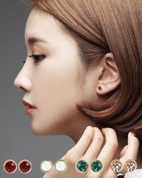 Birthstone earring (er675)