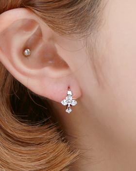 Genuine one-touch earring (er1843)