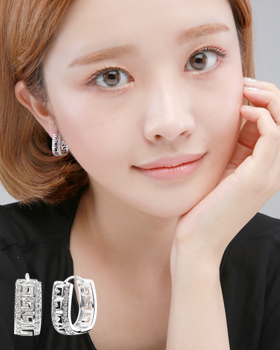 Ment one-touch earring (er1842)