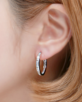 One Touch Earring (er1840)