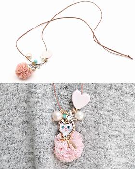 Kankan Cotton Candy Necklace (nk538)