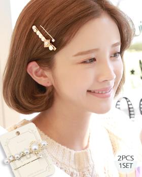Pearl Cane Hairpin (hp459)