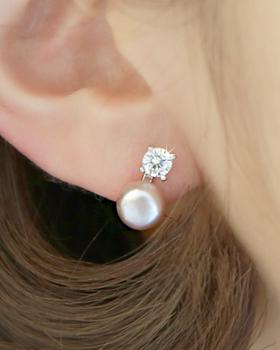Pearl earring earring (er1807)