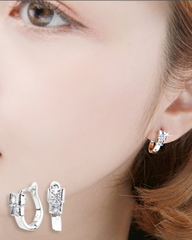 Anou one-touch earring (er1847)