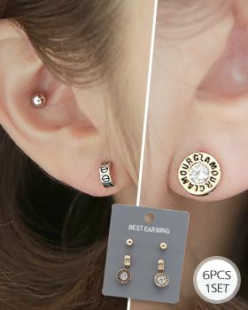 Follow earring (er1789)